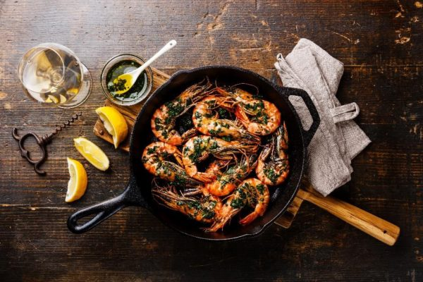 Fish and shellfish cookery course
