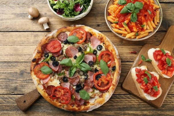 Pizza party cookery course