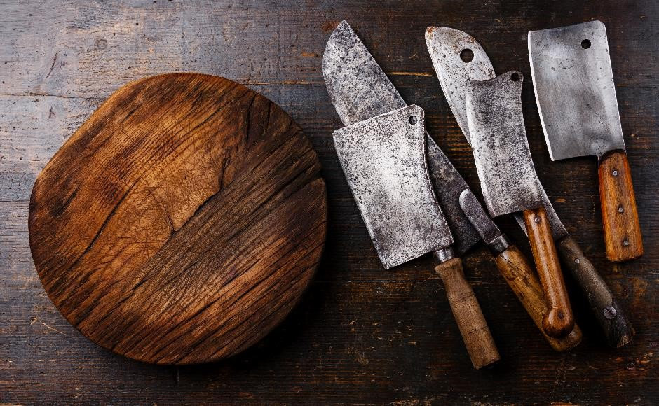 Know your knives cookery course