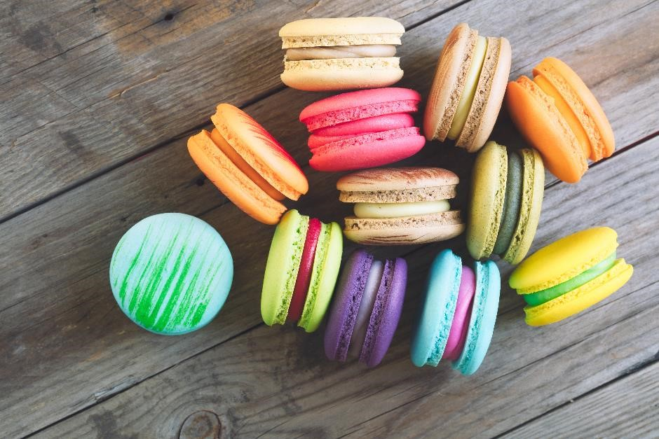 Macaroons cookery course