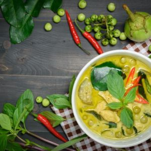 Thai Green Curry Takeaway Evening 26th February 2020
